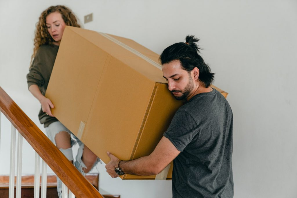 what to do in the moving day