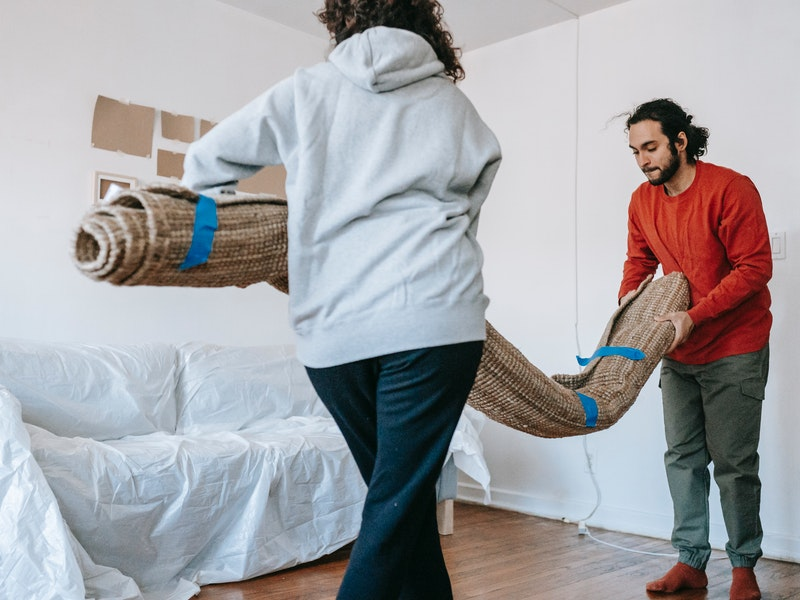 Pack up unessential items before moving items into storage