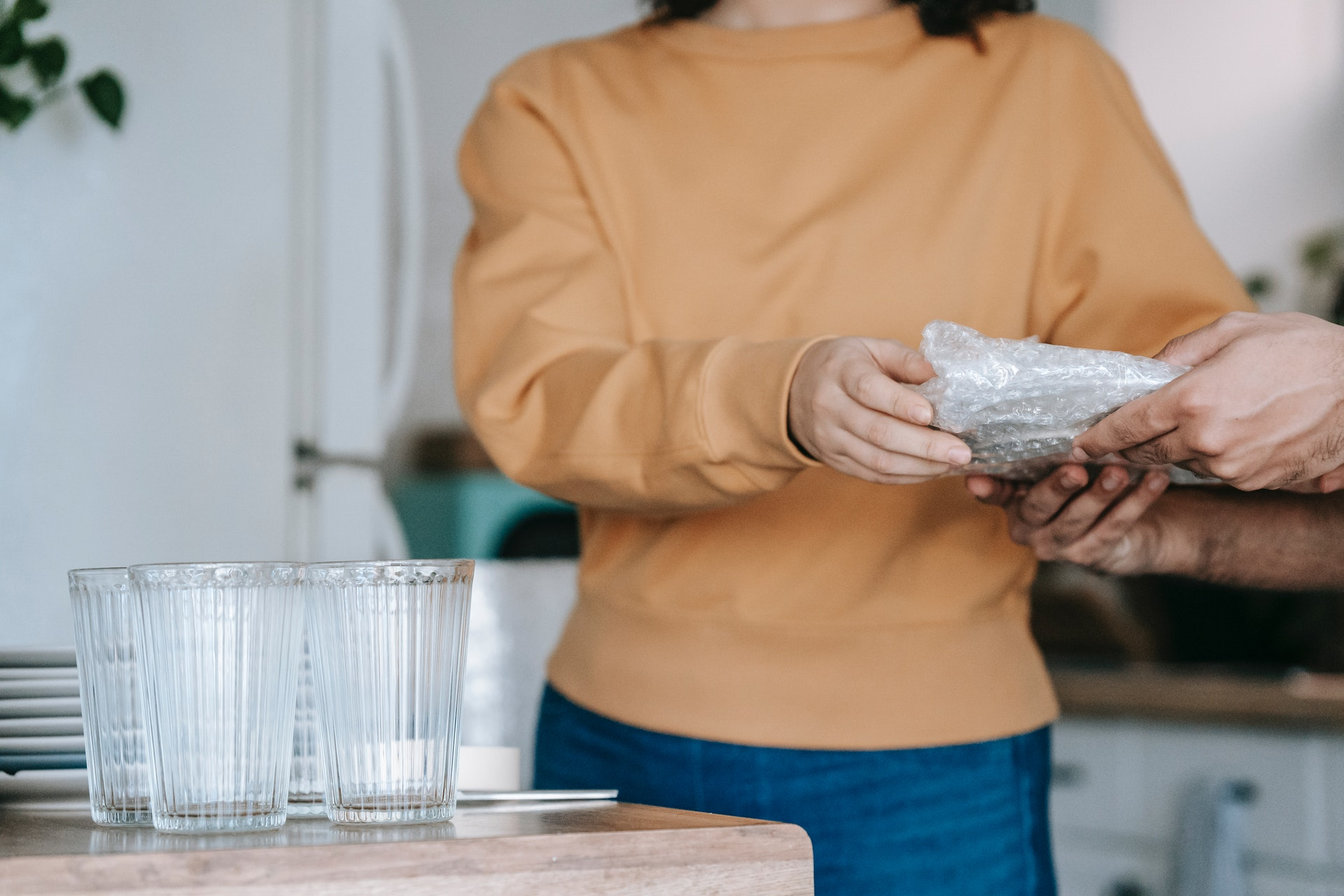 How To Pack Plates & Glasses For Moving & Storage