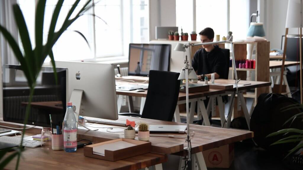 From office furniture to lighting: making your workspace feel like home